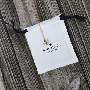 Kate Spade Flower Pendant Necklace